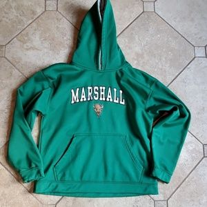Marshal university hoodie